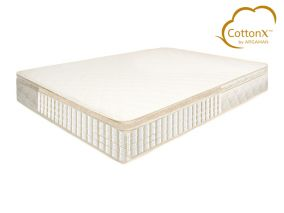 Copper Luxe CottonX Copper Infused Mattress & Topper Set