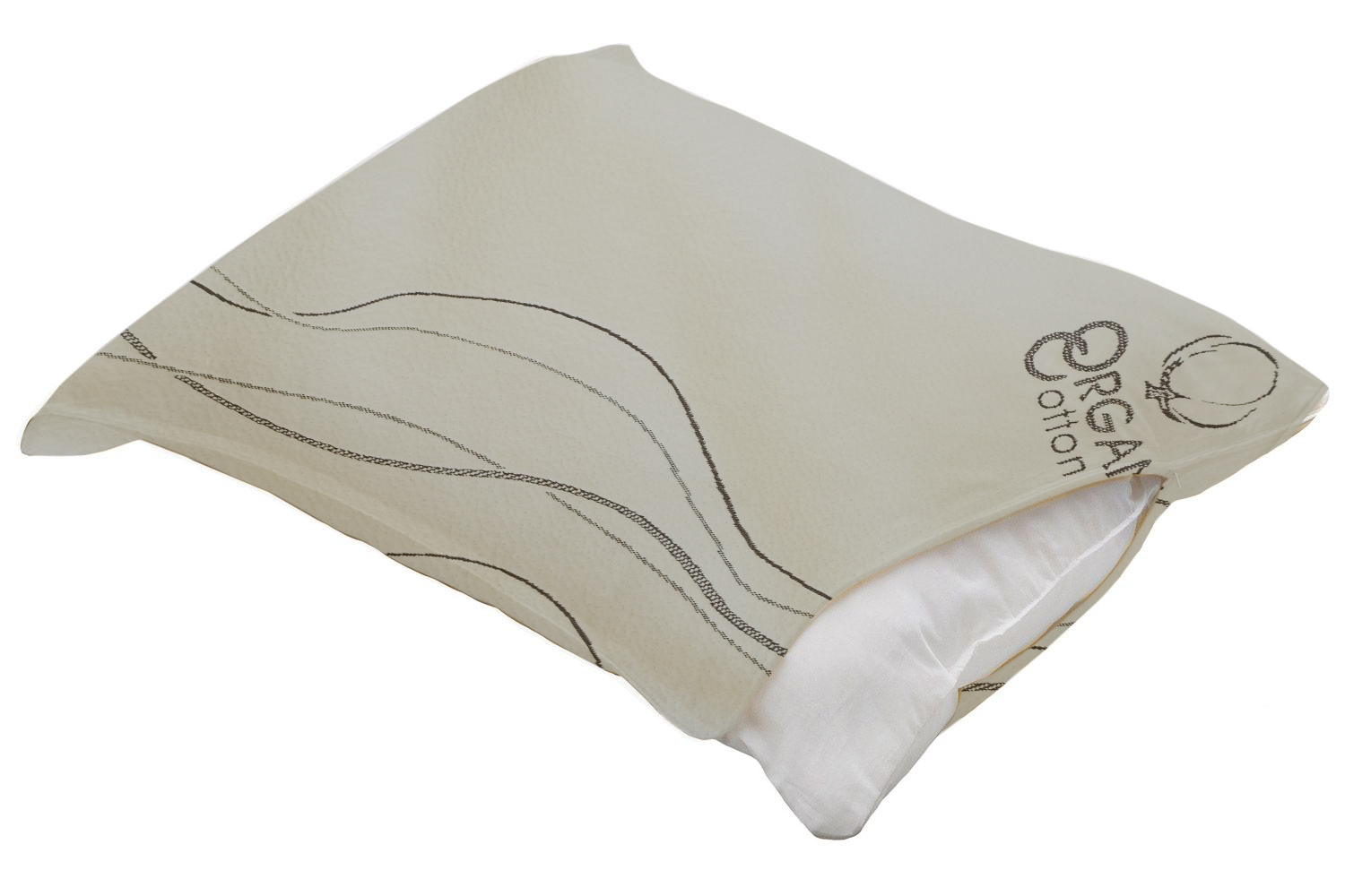 Organic Cotton Pillow Protector Case - Comes In All Pillow Sizes