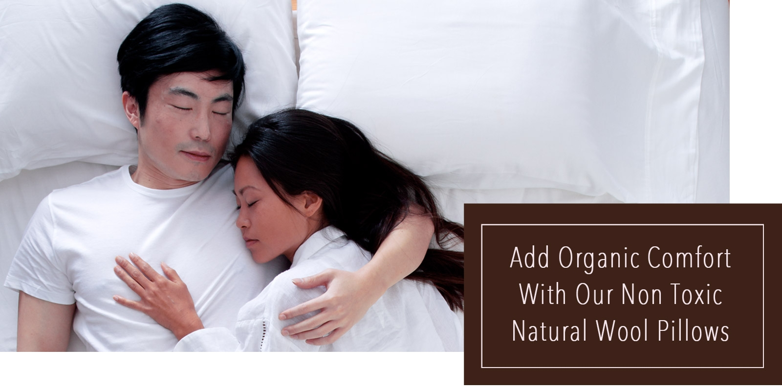Natural Wool Bed Pillow