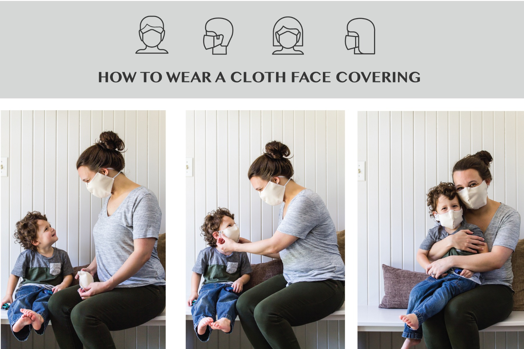 how to wear face mask