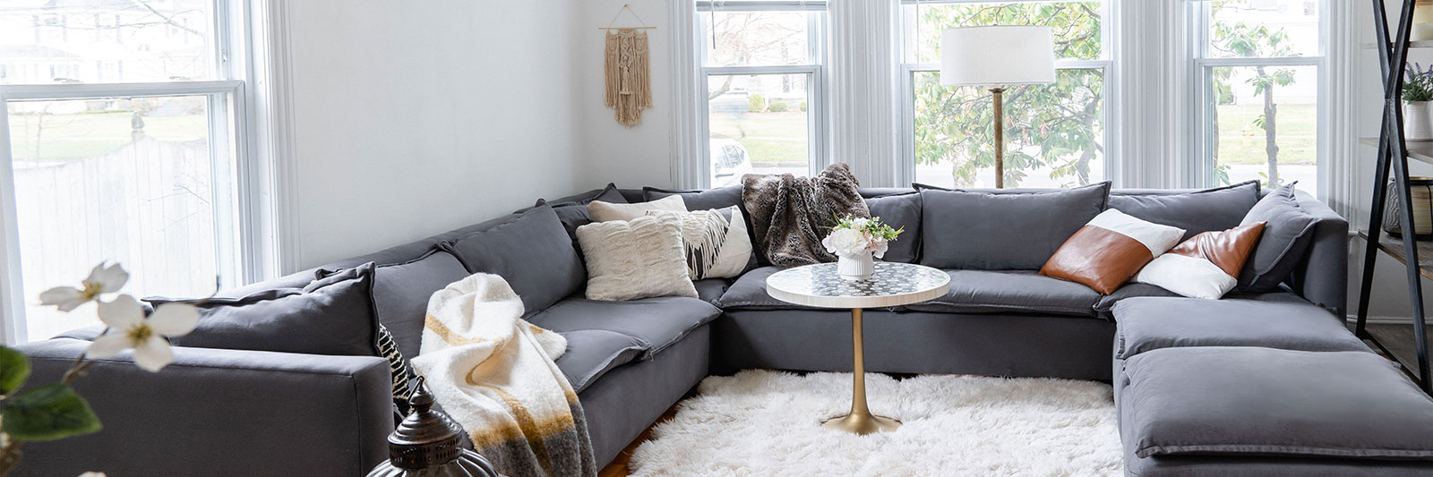 Organic Sofas and Sectionals