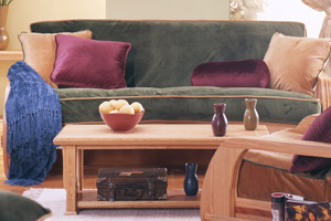 What Is Futon Slipcover and Pillow Piping?